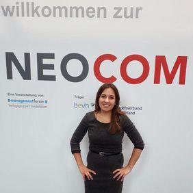 Maria Azzarone auf der Neocom 2017 - Bild 2