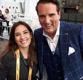 Maria Azzarone und Ralph Dümmel auf der Neocom 2017
